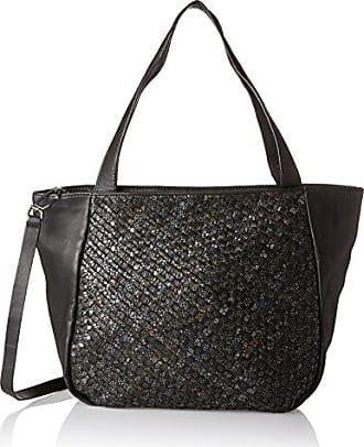Tulasa Cosnwe, Womens Shoulder Bag, Schwarz (Oil Black), 16x38x42 cm (B x H T) Liebeskind