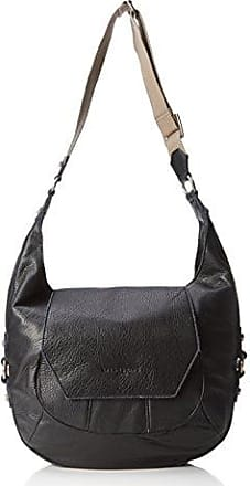 Topeka Cosnwe, Womens Shoulder Bag, Schwarz (Oil Black), 13x28x30 cm (B x H T) Liebeskind
