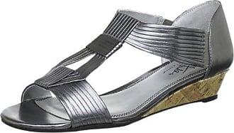 ELLISON B5341S3902, Damen Slipper, Silber (Silver Grey), EU 38 (UK 5) (US 7) Life Stride