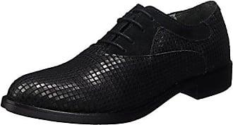 Tegan Briller Hudson Salut, Derby Chaussures À Lacets Pour Les Femmes, Noir, 36 Eu
