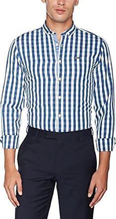Striped Oxford Shirt S/S, Chemise Business Homme, Bleu (LT Blue LT Blue), 44 (Taille du Fabricant: Large)Lindbergh