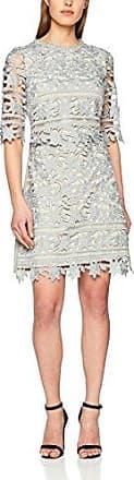Little Mistress Crochet Lace Shift Dress, Vestido de Fiesta para Mujer, Verde (Waterlily 001), 36