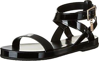 Crocs Isabella Gladiator Sandal W Black/black, Schuhe, Sandalen & Hausschuhe, Riemensandalen, Grau, Female, 36