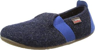 Living Kitzbühel T-Modell Fußball - Zapatillas de estar por casa de lana para niña azul Blau (nachtblau 590) 28 8pIg5ei