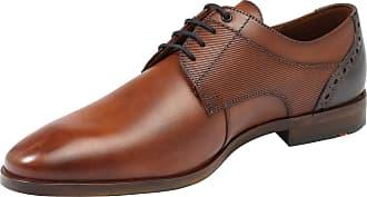 Lloyd Chaussures En Dentelle Bleu / Marron hBpct8