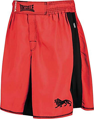 Londsdale Boxen Bekleidung Omni Strike Fight Shorts - Prenda, color rojo, talla xl Lonsdale