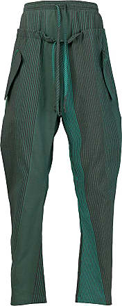 Pantalon Rayé À Double Taille - Vert Perdus Et Trouvés Chambres fpTbBhUSK