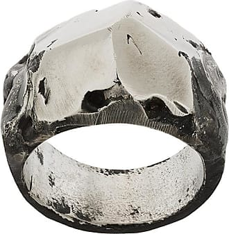 Lost And Found Rooms faceted ring - Metallic p4Ysk