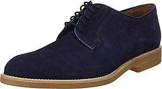 Zapatos de Cordones Brogue para Hombre, Negro (Black Denim), 43 EU Toms