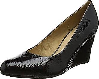 Star, Zapatos con Plataforma para Mujer, Negro (Black/Diamante BLK), 42 EU Lotus