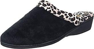 Lotus Airelle, Zapatillas de Estar por Casa para Mujer, Negro (Black BLK), 36 EU