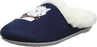 Fischer Dora, Zapatillas de Estar por Casa para Mujer, Azul (Blau 555), 41 EU