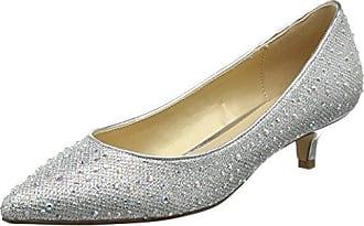 Lotus 50594 - Zapatos de Tacón con Punta Cerrada de Sintético Mujer, Color Morado, Talla 37