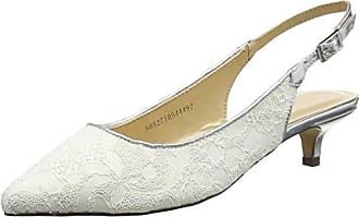 Miss Selfridge Court, Escarpins Bride Arriere Femme, Or (Gold Gold), 38 EU