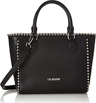 Borsa Vitello Smooth Nero, Womens Shoulder Bag, Black, 6x16x28 cm (B x H T) Love Moschino