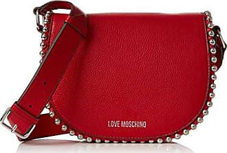 Borsa Embossed Tpu Nero, Womens Baguette, Black, 3x13x20 cm (B x H T) Love Moschino