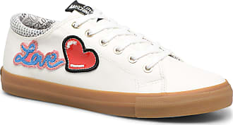 Amour Baskets Moschino Couche Boston 1 « Rouge / Noir / Blanc 1kx1Z6soh