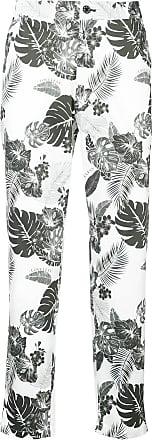 Hose mit Blumenmuster - Weiß Loveless