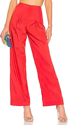 High Waist Pants in Red. - size M (also in L,S,XL,XS,XXS) LPA