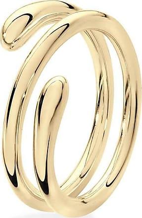 Lucy Quartermaine 2 Ring Drop Rose Gold Plated - UK T - US 9 5/8 - EU 61 1/2 eFfVoquXm8