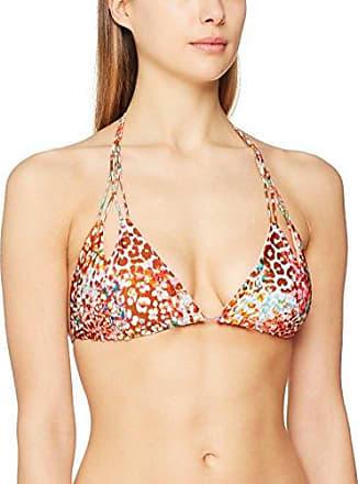 Luli Fama Sunk/L Cut Out Hltr, Haut de Maillot de Bain Femme, Multicolore (Multicolor), 36 (Taille Fabricant: Med)
