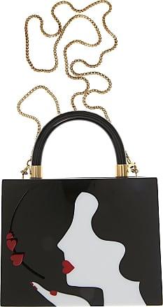Abendtasche für Damen, Silber, Plexiglas, 2017, one size Lulu Guinness