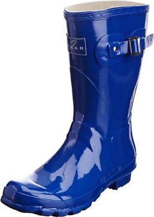 Womens Stars Ii Black Wellington Boot ELG002 6 UK, 39 EULunar