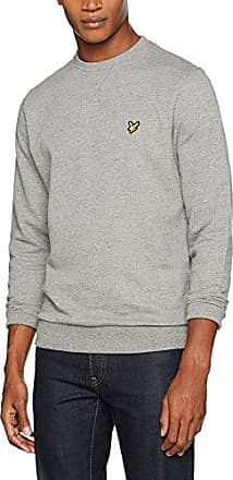 1/4 Zip 7Gg, Jersey para Hombre, Gris (Mid Grey Marl T28), Medium Lyle & Scott