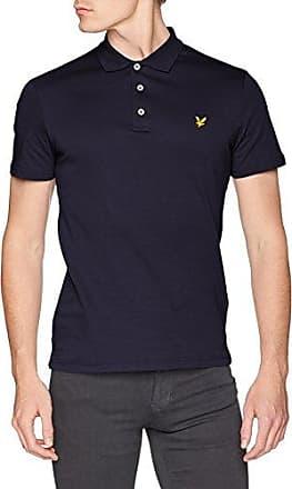 Yoke Stripe Shirt, Polo para Hombre, Azul (Navy), XX-Large Lyle & Scott