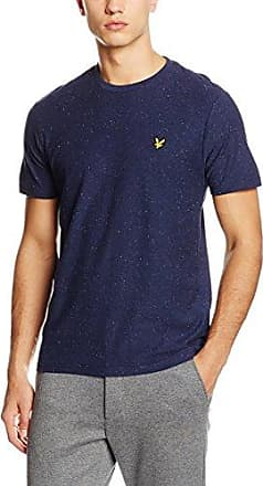 Jacquard, T-Shirt Homme, Bleu (Navy Z99), XLLyle & Scott