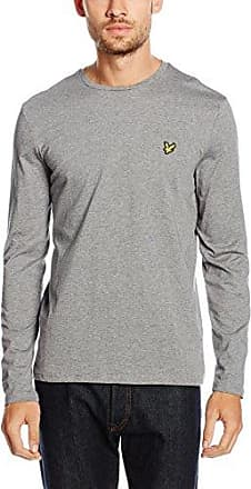 Crew Neck T-Shirt, Camiseta para Hombre, Naranja (Fox Orange Z266), Medium Lyle & Scott