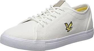 Luggie Canvas, Sneaker Uomo, Bianco (Off White Z139), 42 EU Lyle & Scott