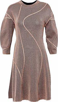 Knit Tamaño Qxwdzc 38 Mujer Oro Rose M Missoni Metálico Dress Stretch BwSqEv0