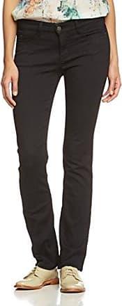 MAC Angela - Pantalones Straigth para Mujer, Color Schwarz (Black d999), Talla W46/L32