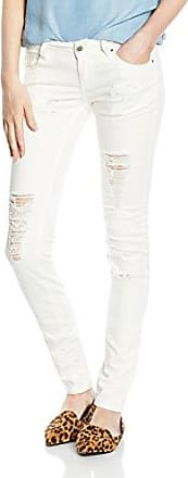 10-414 - Jeans Femme, Blanc (bright white 9019) - M (Taille fabricant: L)Madonna