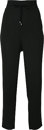 drawstring tapered trousers - Schwarz Mads Norgaard