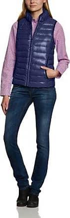 Maerz Veste sans manche- Col maoSans manche FemmeBleuBlau (356)FR : 46 (Taille fabricant : 44) whqS8b