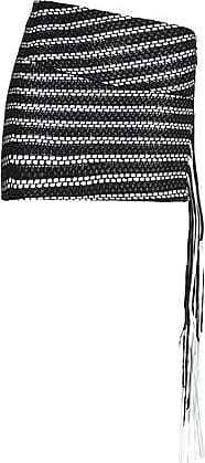 Magda Butrym Woman La Plata Fringed Leather And Cotton Mini Skirt Black Size 38 Magda Butrym Big Discount KOetPse4uD