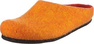 MagicFelt Andromeda 17709, Unisex - Erwachsene Pantoffeln, Orange (orange 4807), EU 37