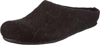 MagicFelt AT 719, Unisex-Erwachsene Pantoffeln, Schwarz (Juraschaf 4851), 41 EU (7.5 Erwachsene UK)