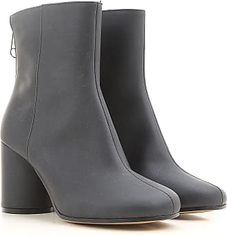 Boots for Women, Booties On Sale, Black, Leather, 2017, 3.5 4.5 5.5 6 7.5 Maison Martin Margiela