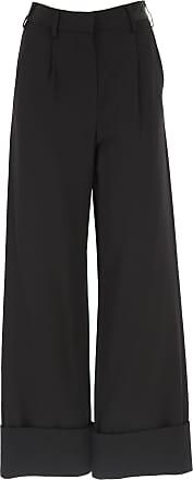 Pants for Women On Sale, Black, viscosa, 2017, 26 28 Maison Martin Margiela