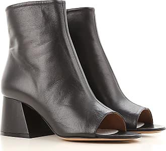 Sandals for Women On Sale, Black, Patent Leather, 2017, 2.5 4.5 6 7.5 Maison Martin Margiela