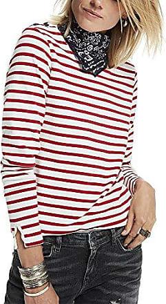 Scotch & Soda Maison L/S Breton tee, Camiseta para Mujer, Multicoloured (Combo D 20), 42