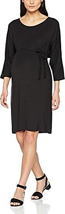 Mama Licious Mlpilar S/s Jersey Abk Dress 2 V, Vestido para Mujer, Verde (Thyme Pack: Black), 36 (Talla del fabricante: X-Small) 2