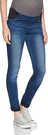 Mlninety Slim Jegging W Ela, Pantalon Femme, Bleu (Medium Blue Denim), W27/L34 (Taille Fabricant: 27.0)Mama Licious