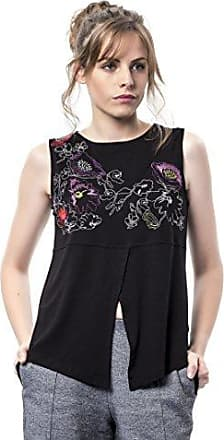 Mamatayoe Gitanillas, Camiseta para Mujer, Negro (Black), Small (Tamaño del Fabricante:S)