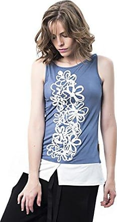 Mamatayoe Gazzotti, Blusa para Mujer, Gris (Antracita), Small (Tamaño del Fabricante:S)
