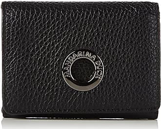 Mellow Leather Portafoglio, Womens Wallet, Schwarz (Nero), 3x10x20 cm (B x H T) Mandarina Duck