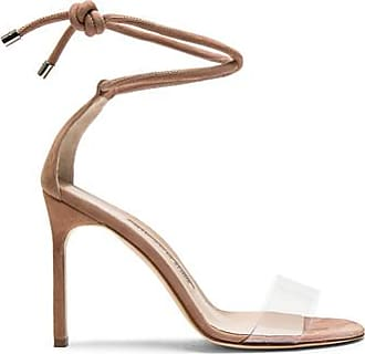 PVC Scolto Sandals in Neutrals. - size 40 (also in 35.5,37,37.5,38.5,39.5,40.5,41) Manolo Blahnik